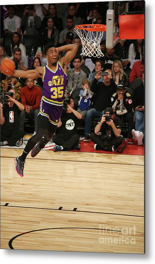 Event Metal Print featuring the photograph Donovan Mitchell by Gary Dineen