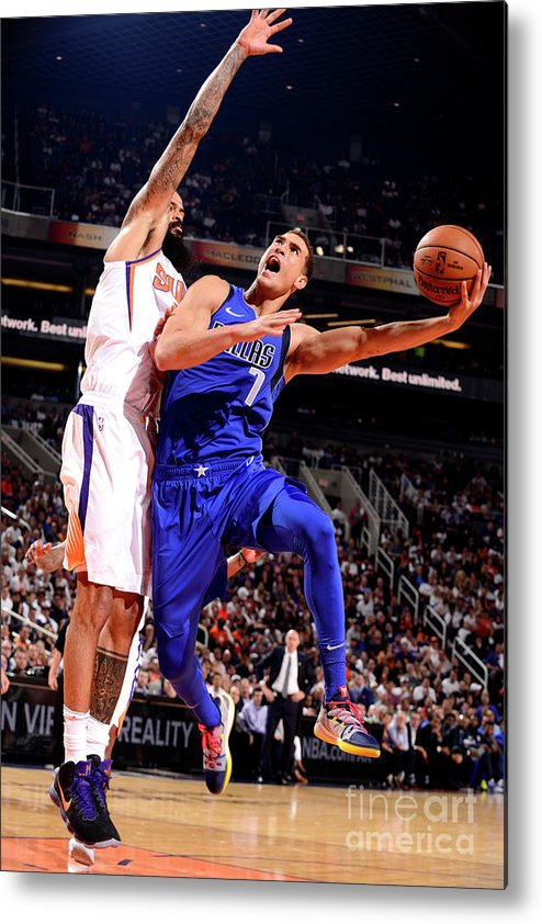 Dwight Powell Metal Print featuring the photograph Dwight Powell by Barry Gossage