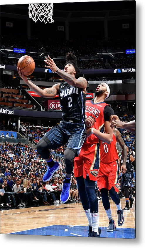 Nba Pro Basketball Metal Print featuring the photograph Elfrid Payton by Fernando Medina