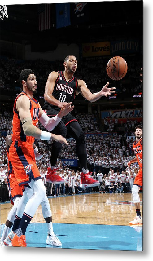Playoffs Metal Print featuring the photograph Eric Gordon by Layne Murdoch