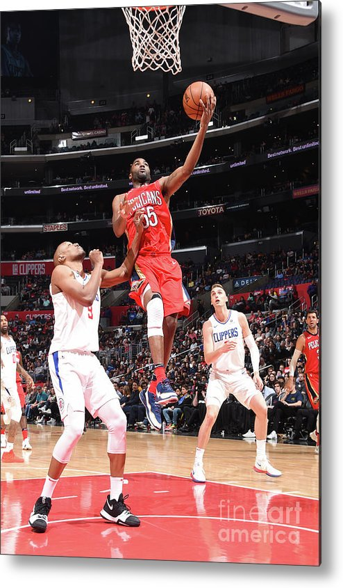 California Metal Print featuring the photograph E'twaun Moore by Andrew D. Bernstein