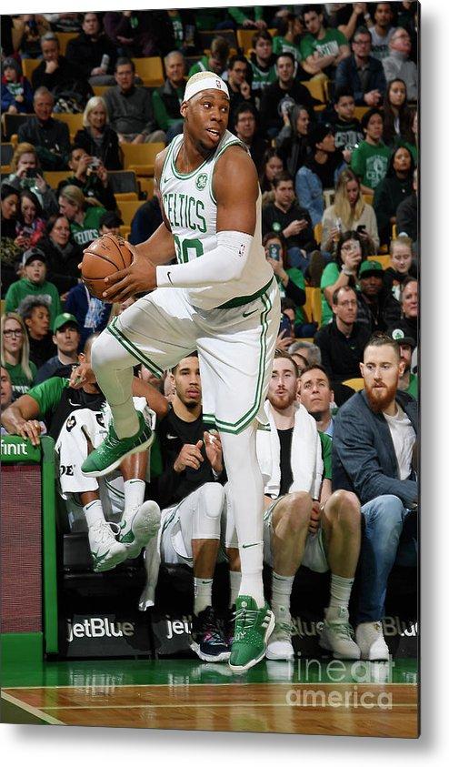 Nba Pro Basketball Metal Print featuring the photograph Guerschon Yabusele by Brian Babineau