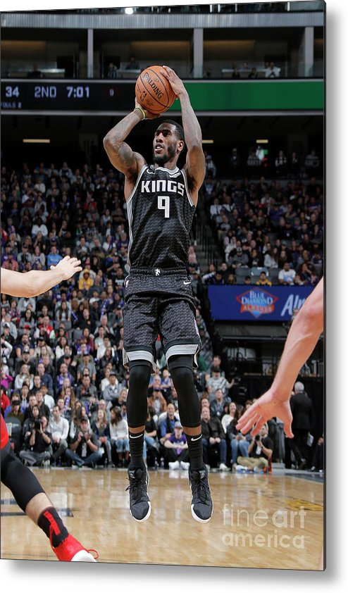 Nba Pro Basketball Metal Print featuring the photograph Iman Shumpert by Rocky Widner