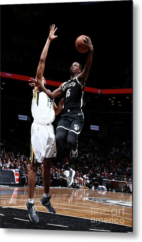 Nba Pro Basketball Metal Print featuring the photograph Isaiah Whitehead by Nathaniel S. Butler