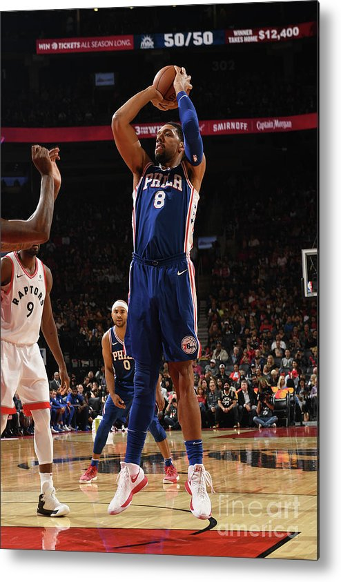 Nba Pro Basketball Metal Print featuring the photograph Jahlil Okafor by Ron Turenne