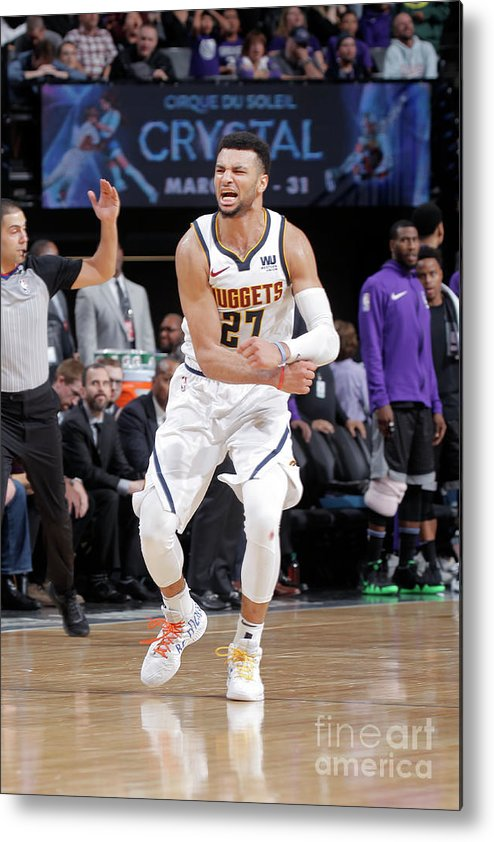 Nba Pro Basketball Metal Print featuring the photograph Jamal Murray by Rocky Widner