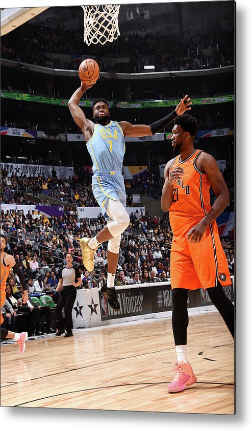 Event Metal Print featuring the photograph Jaylen Brown by Andrew D. Bernstein