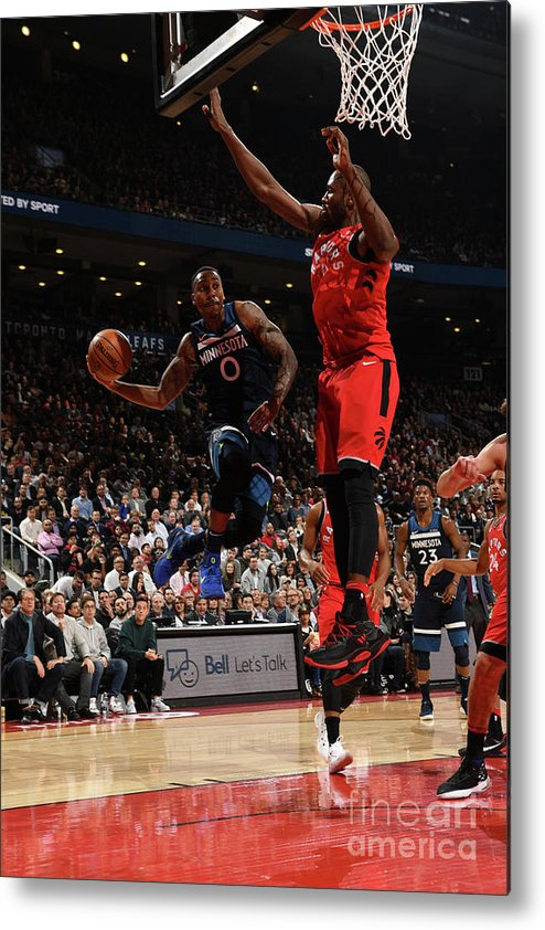 Nba Pro Basketball Metal Print featuring the photograph Jeff Teague by Ron Turenne