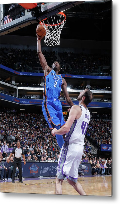 Nba Pro Basketball Metal Print featuring the photograph Jerami Grant by Rocky Widner