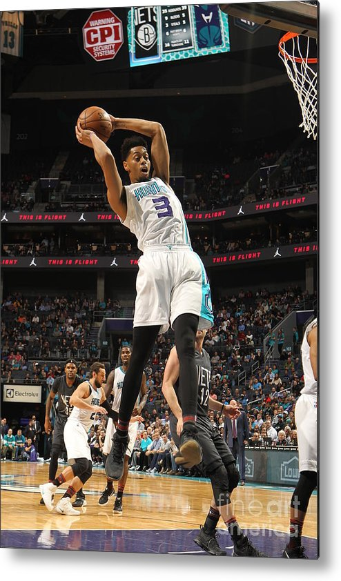 Nba Pro Basketball Metal Print featuring the photograph Jeremy Lamb by Brock Williams-smith
