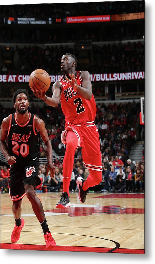 Nba Pro Basketball Metal Print featuring the photograph Jerian Grant by Gary Dineen