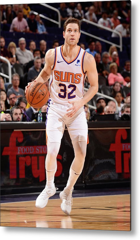 Nba Pro Basketball Metal Print featuring the photograph Jimmer Fredette by Barry Gossage