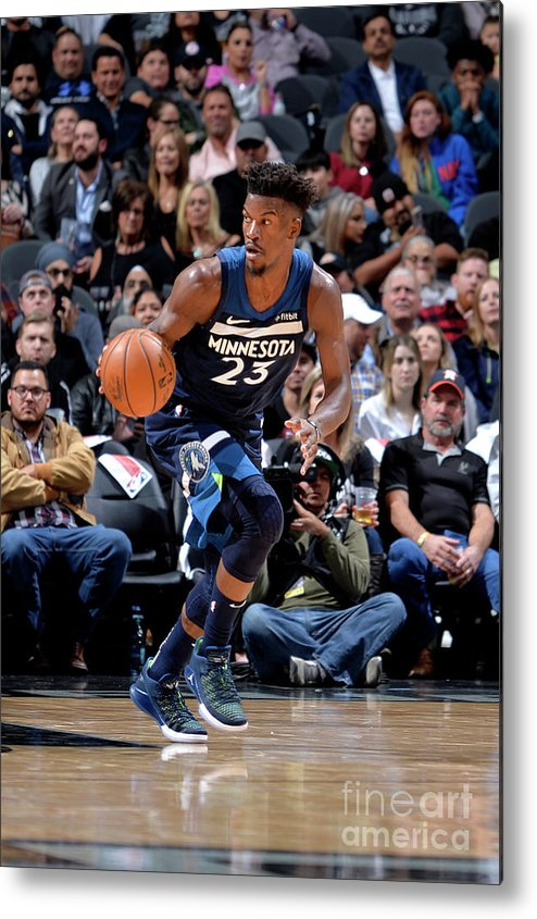 Nba Pro Basketball Metal Print featuring the photograph Jimmy Butler by Mark Sobhani
