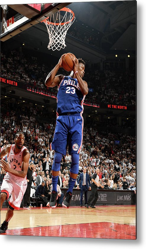 Playoffs Metal Print featuring the photograph Jimmy Butler by Ron Turenne