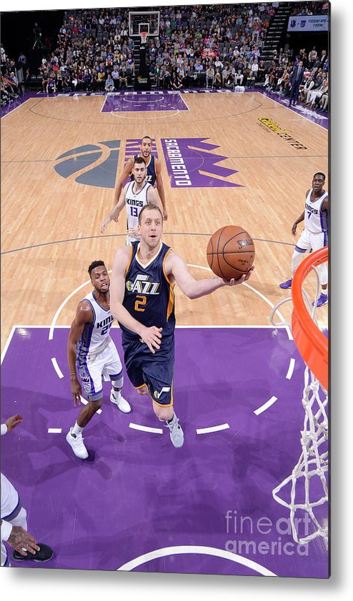Nba Pro Basketball Metal Print featuring the photograph Joe Ingles by Rocky Widner