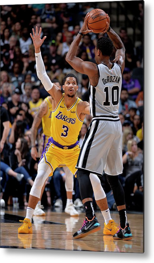 Nba Pro Basketball Metal Print featuring the photograph Josh Hart by Mark Sobhani