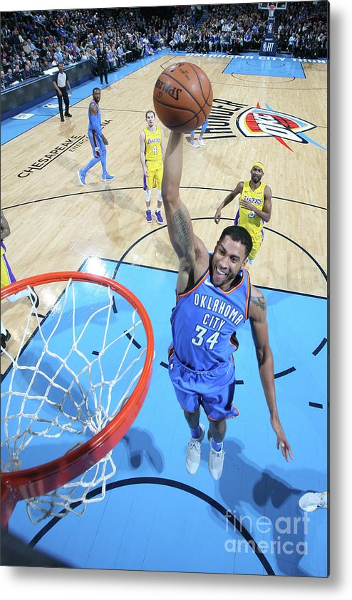 Nba Pro Basketball Metal Print featuring the photograph Josh Huestis by Layne Murdoch