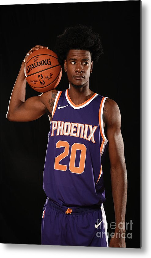 Nba Pro Basketball Metal Print featuring the photograph Josh Jackson by Brian Babineau