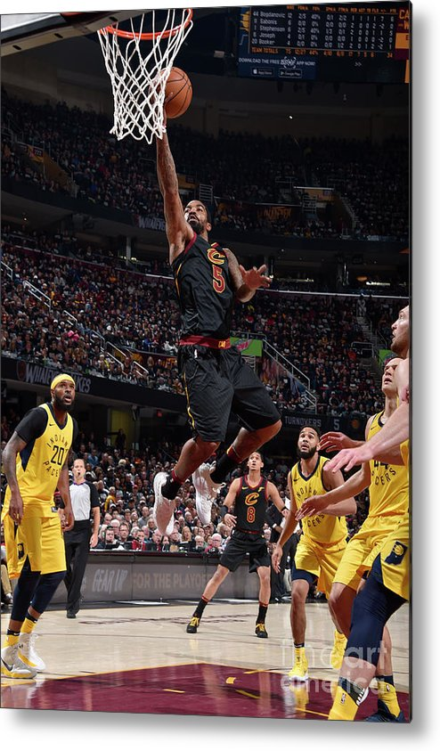 Playoffs Metal Print featuring the photograph J.r. Smith by David Liam Kyle