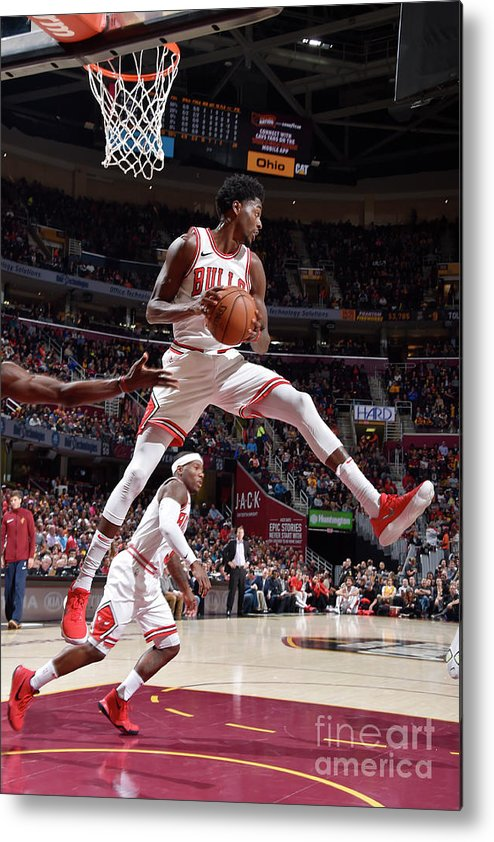 Nba Pro Basketball Metal Print featuring the photograph Justin Holiday by David Liam Kyle
