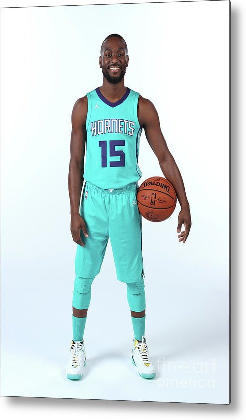 Media Day Metal Print featuring the photograph Kemba Walker by Kent Smith