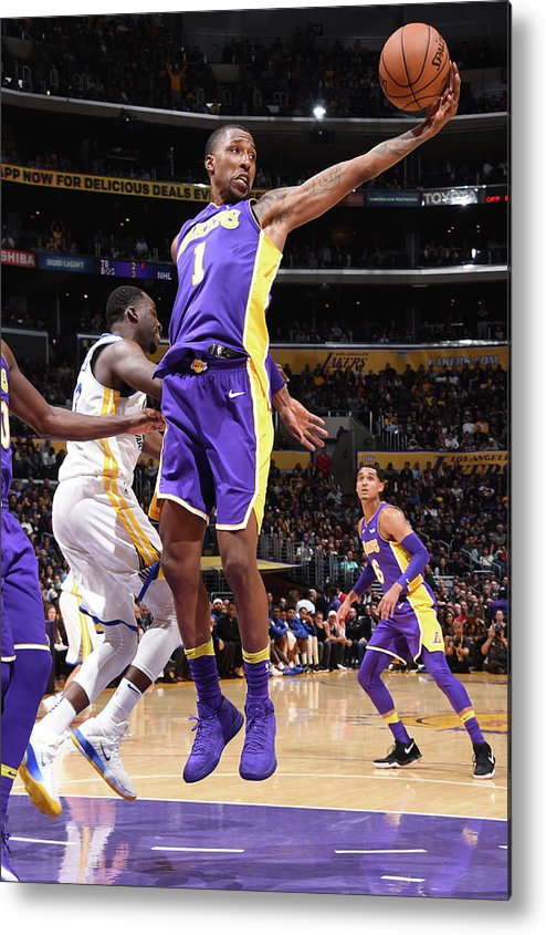 Nba Pro Basketball Metal Print featuring the photograph Kentavious Caldwell-pope by Andrew D. Bernstein