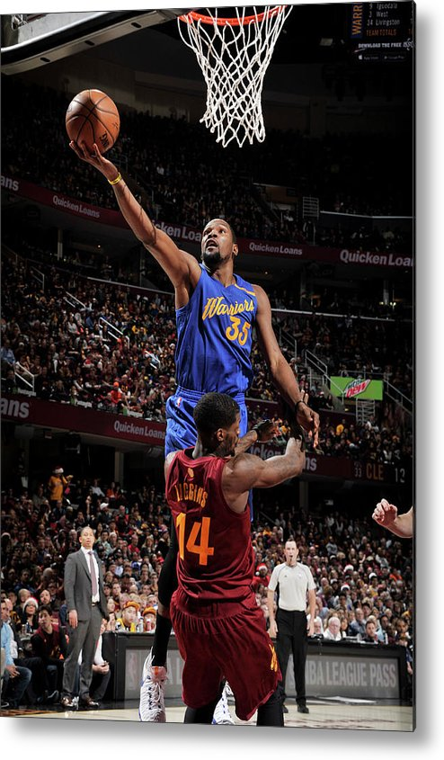Nba Pro Basketball Metal Print featuring the photograph Kevin Durant by David Liam Kyle