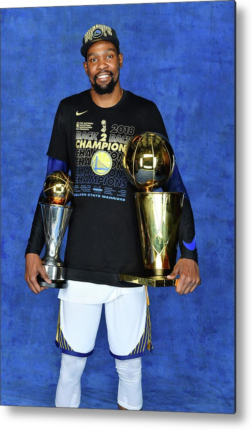 Playoffs Metal Print featuring the photograph Kevin Durant by Jesse D. Garrabrant