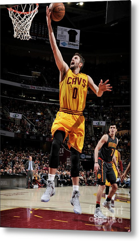 Nba Pro Basketball Metal Print featuring the photograph Kevin Love by David Liam Kyle