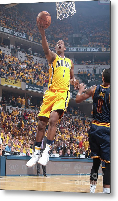 Playoffs Metal Print featuring the photograph Kevin Seraphin by Ron Hoskins