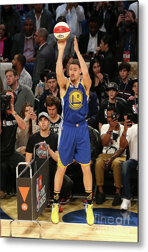 Event Metal Print featuring the photograph Klay Thompson by Layne Murdoch