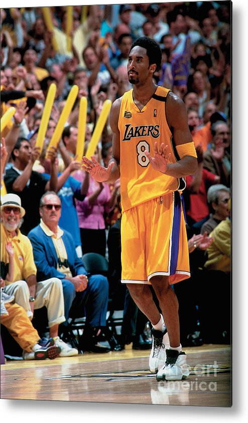 Nba Pro Basketball Metal Print featuring the photograph Kobe Bryant by Andrew D. Bernstein