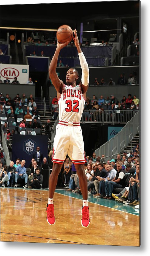 Chicago Bulls Metal Print featuring the photograph Kris Dunn by Kent Smith