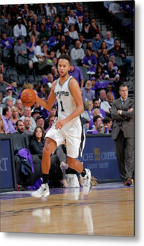 Nba Pro Basketball Metal Print featuring the photograph Kyle Anderson by Rocky Widner