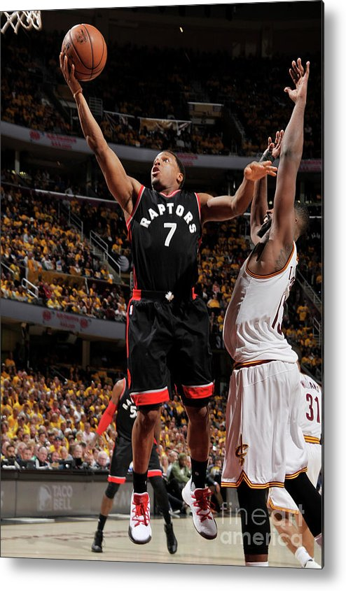 Playoffs Metal Print featuring the photograph Kyle Lowry by David Liam Kyle