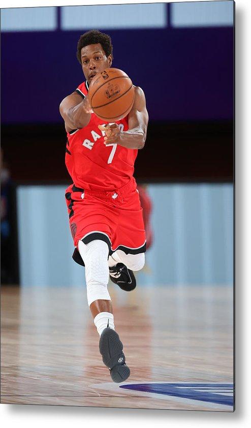 Nba Pro Basketball Metal Print featuring the photograph Kyle Lowry by David Sherman
