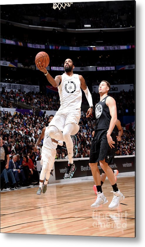 Nba Pro Basketball Metal Print featuring the photograph Kyrie Irving by Andrew D. Bernstein