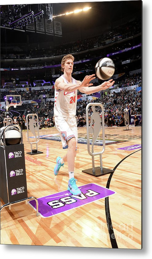 Event Metal Print featuring the photograph Lauri Markkanen by Andrew D. Bernstein