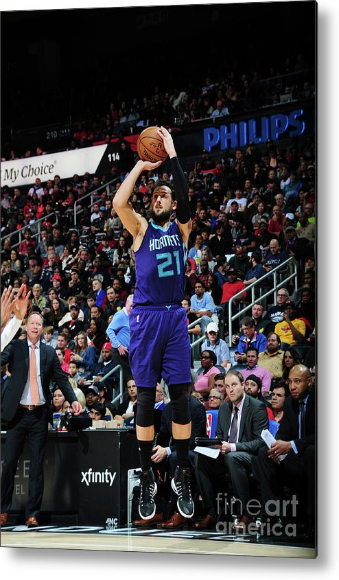 Atlanta Metal Print featuring the photograph Marco Belinelli by Scott Cunningham