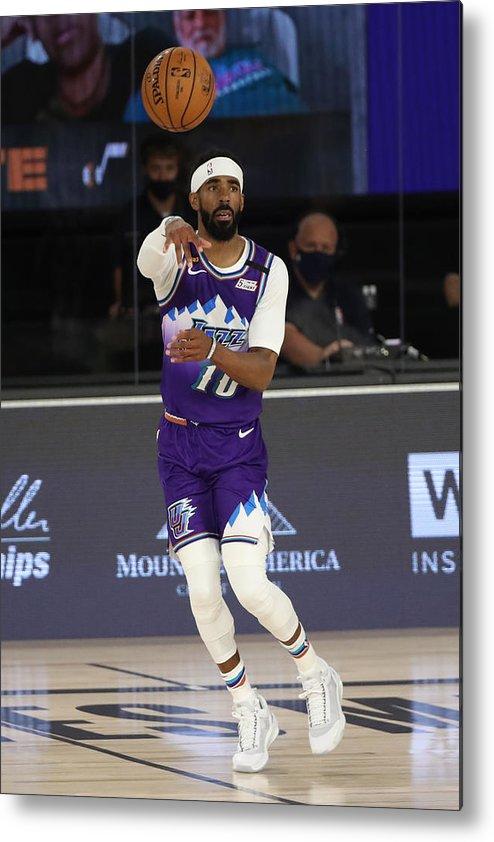 Nba Pro Basketball Metal Print featuring the photograph Memphis Grizzlies v Utah Jazz by Joe Murphy