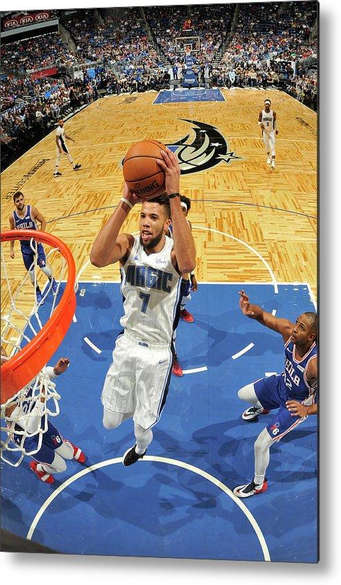 Nba Pro Basketball Metal Print featuring the photograph Michael Carter-williams by Fernando Medina
