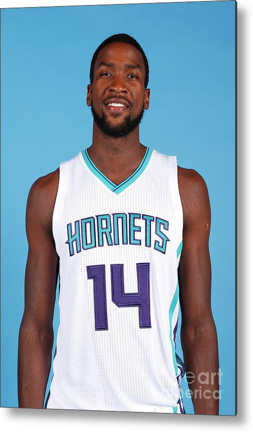 Media Day Metal Print featuring the photograph Michael Kidd-gilchrist by Brock Williams-smith
