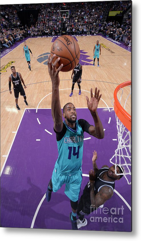 Nba Pro Basketball Metal Print featuring the photograph Michael Kidd-gilchrist by Rocky Widner