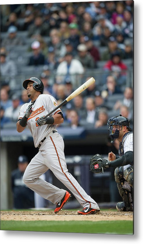 East Metal Print featuring the photograph Nelson Cruz by Rob Tringali