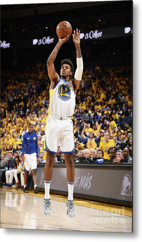 Playoffs Metal Print featuring the photograph Nick Young by Garrett Ellwood