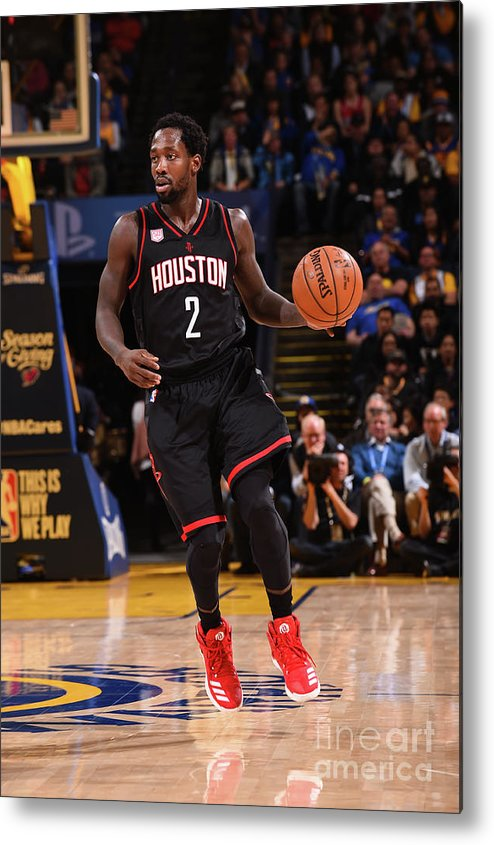 Nba Pro Basketball Metal Print featuring the photograph Patrick Beverley by Noah Graham