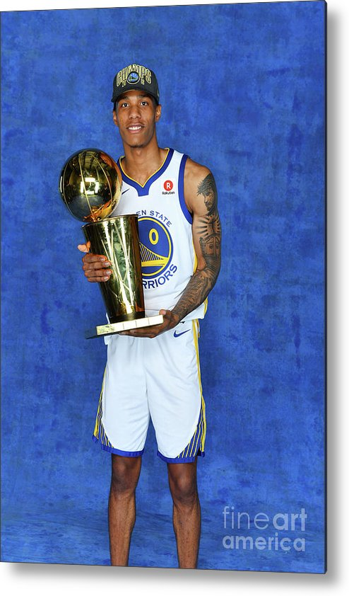 Playoffs Metal Print featuring the photograph Patrick Mccaw by Jesse D. Garrabrant