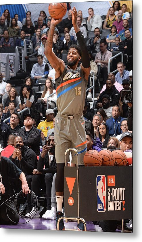 Event Metal Print featuring the photograph Paul George by Andrew D. Bernstein