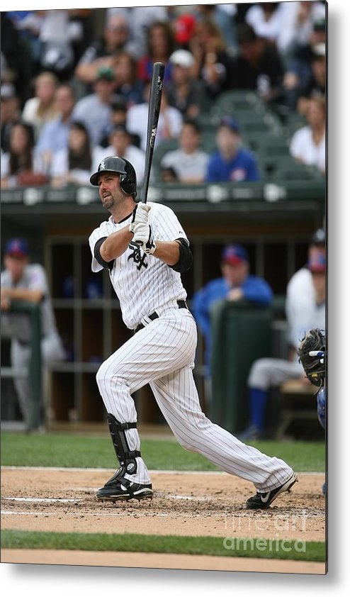 American League Baseball Metal Print featuring the photograph Paul Konerko by Ron Vesely