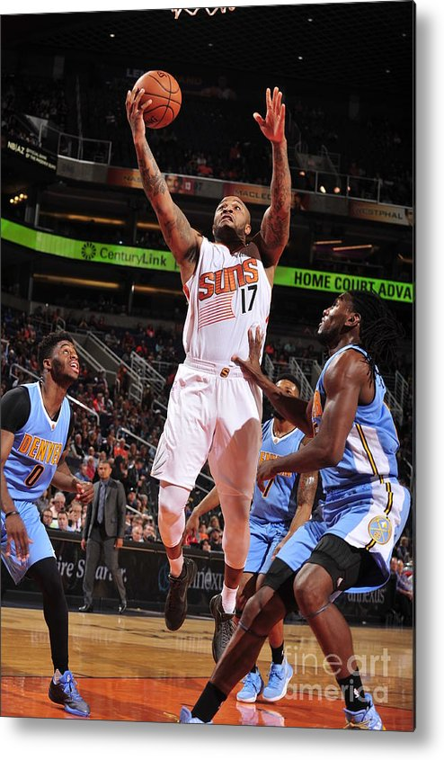 Nba Pro Basketball Metal Print featuring the photograph P.j. Tucker by Barry Gossage